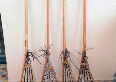 4 crosses de lacrosse anciennes
