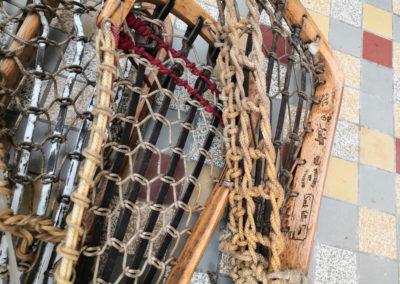 Filet de plusieurs crosses de Lacrosse