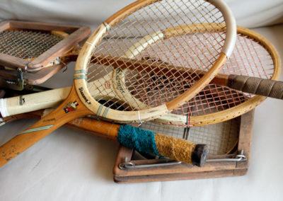 Ancienne raquette de tennis Slazenger