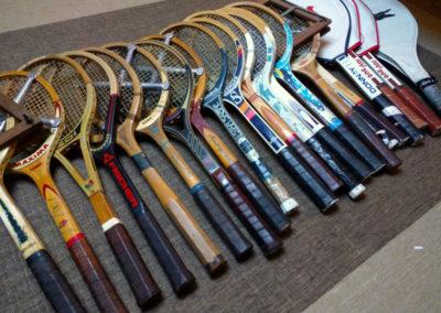 Anciennes raquettes de tennis Triumph Fisher Torkeo