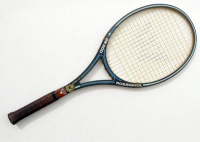 Ancienne raquette de tennis vintage en graphite