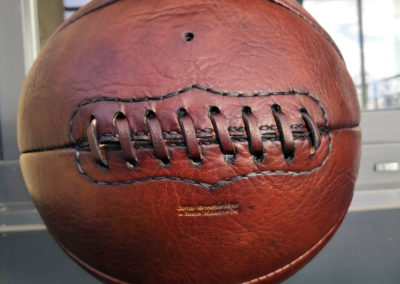 lacets d'une ballon de basket vintage