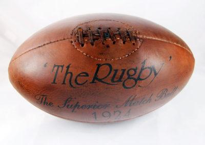 Photo du ballon vintage 1924 sur fond blanc