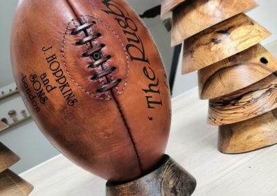 Ancien ballon de rugby 1924