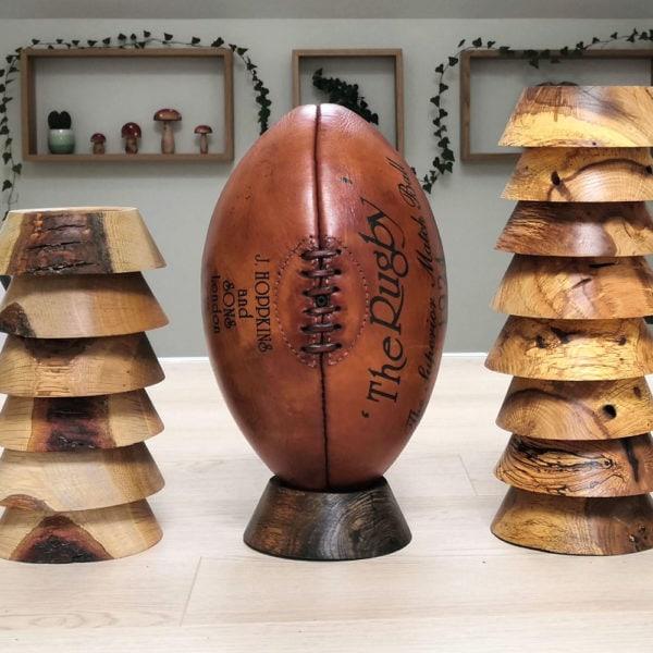 Ballon de rugby vintage 1924