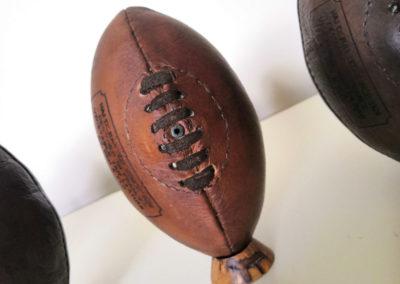 Mini ballon de rugby déco