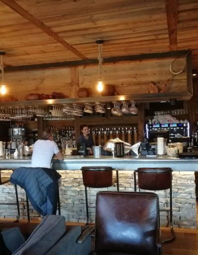 Vue sur le bar La Clauserie