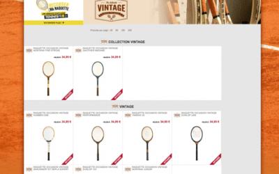 Tennis Pro, le leader du tennis online