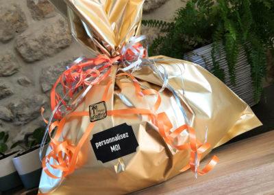 Macro emballage cadeau