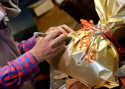 Personnalisation du paquet cadeau